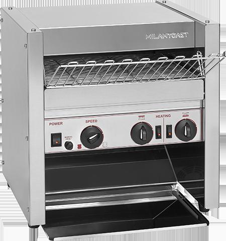 Heavy duty conveyor toaster for fast food