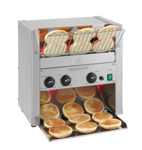 Conveyor toaster three slices